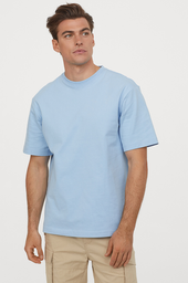 H&M Polera Blue Light Cw 11 Light Solid 027