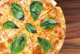 Pizza Margarita in the hood