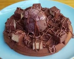 Waffle triple chocolate