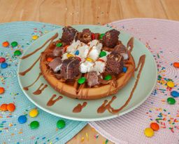 Waffle snickers
