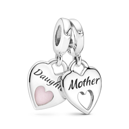 Pandora Charm Colgante Corazón Dividido
