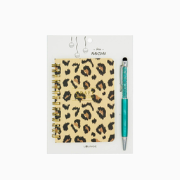 Lounge Libreta Animal Print - Lápiz Verde