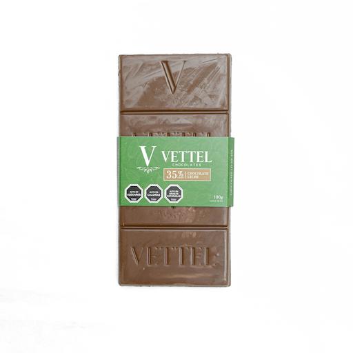 Barra de Chocolate de Leche 35% Cacao