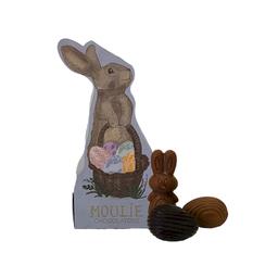 Figura de Conejito Dulce de Leche + Huevitos de Chocolate