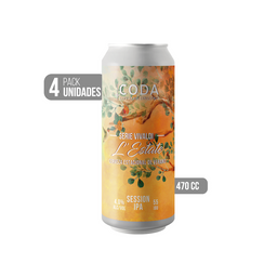 4-Pack L'Estate Session IPA Lata 470 cc