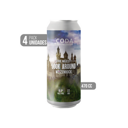 4-Pack Look Around Weizenbock Lata 470 cc