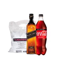 Combo Jw Black + Bebida 1,5L a elección + Hielo