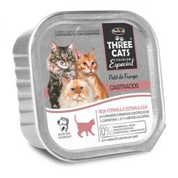 Three Cats Alimento Para Gato Paté Castrados 90 g