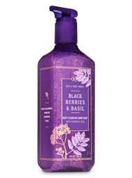 Bath & Body Works Jabón Exfoliante Blackberries Basil 236 mL