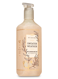 Bath & Body Works Jabón Exfoliante Sweater Weather 236 mL