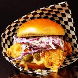 Chicken fresh burger
