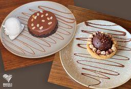 Pie de Ferrero + Pie de Snickers