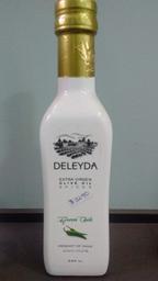 Aceite de oliva especiado, ají verde