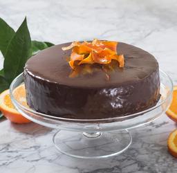 Diabeticos Torta de Chocolate Naranja 15 Personas