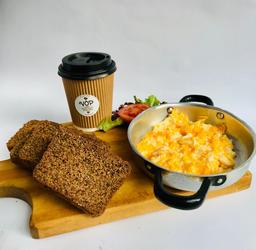 Desayuno huevos de campo keto - LOW CARB