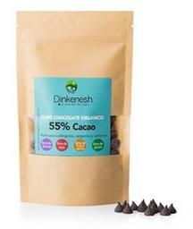 Chips chocolate orgánico 55%