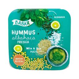 Hummus tradicional Albahaca Fresca