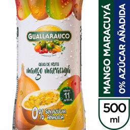 Agua saborizada mango maracuyá 0% azúcar añadida
