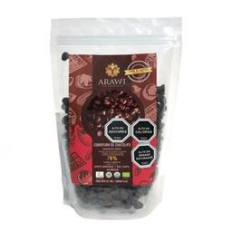 Cobertura chocolate organica 70% chips 227 g