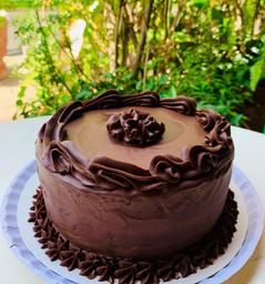 KETO Torta de Chocolate extra Dark 8 -10 porciones Sin Azúcar