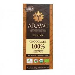 Chocolate 100% cacao KETO - LOW CARB organico barra 50 g