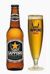 Cerveza sapporo 4.6°