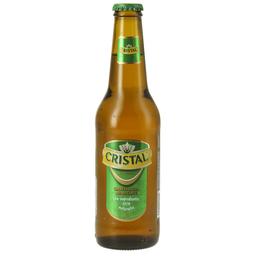 Cerveza long neck cristal 355 cc bot