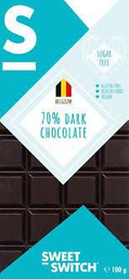 Chocolate belga 70% cacao KETO dark LOW CARB Sin Azúcar Sin Glut
