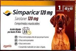 Simparica 120mg 40 a 60kg (3 comprimidos)