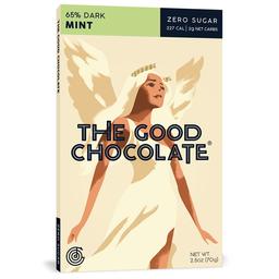 Chocolate keto friendly menta sin azúcar