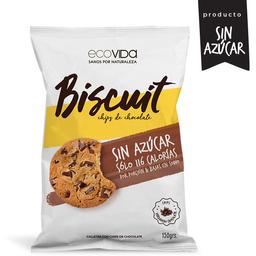 Biscuit Chips de chocolate - Galletas choco chips sin azúcar