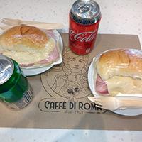 Promoción - 2 Croissants de jamón y queso + 2 Bebidas en lata 35