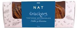 Crackers datiles y almendras