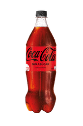 Coca-Cola Sin Azúcar Gaseosa Botella