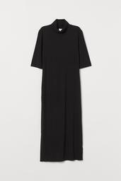 H&M Vestido Mujer Color Negro