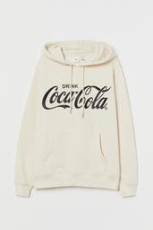 H&M Polerón Mujer Coca Cola Beige