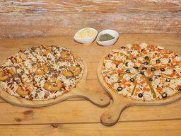 2 Pizzas Tentazione Medianas