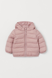 H&M Parka Color Rosa