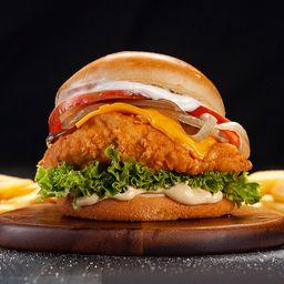 Honey Chicken Burger