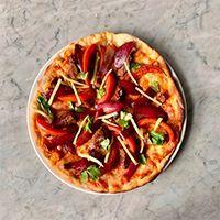 Pizza filete salteado