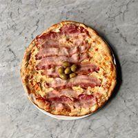 Pizza solo panceta