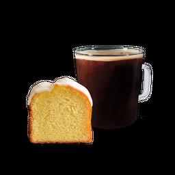 Americano Grande más Lemon Cake