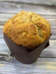 Muffin de banana nuez