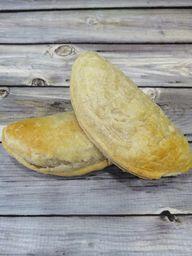 Empanada hoja champiñón queso