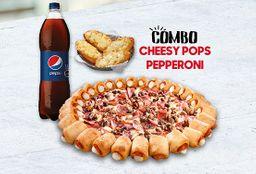 Combo Cheesy Pops Pepperoni & Queso