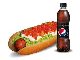 Promo Hot dog Pepsi
