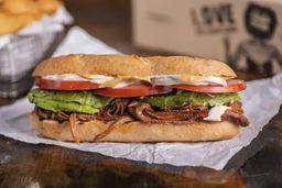 Combo Sandwich de Brisket Ahumado