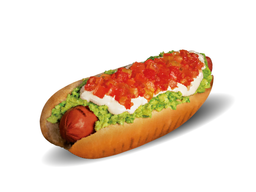 Promo Hot dog Italiano