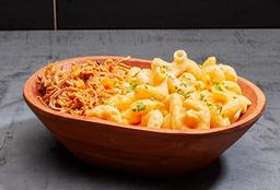 Macaroni&Cheese con Mechada de vacuno