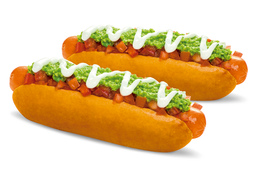 2 Hot Dog Italianos